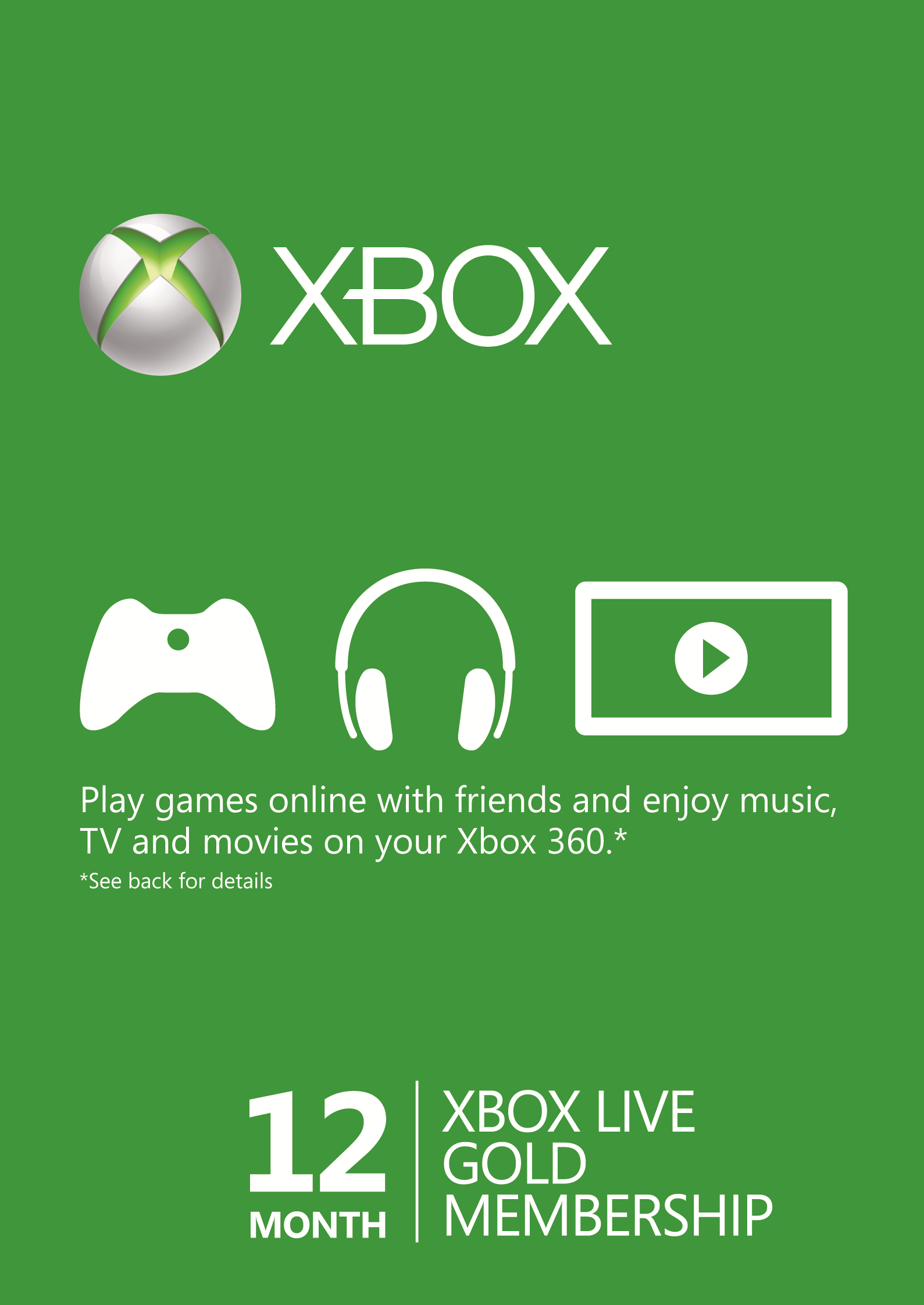 Xbox Live Gold 12 Months Wholesale Price RU Key