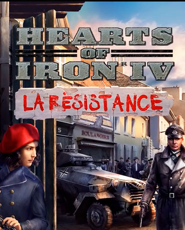 Hearts of Iron IV La Resistance IN STOCK+DISCOUNT