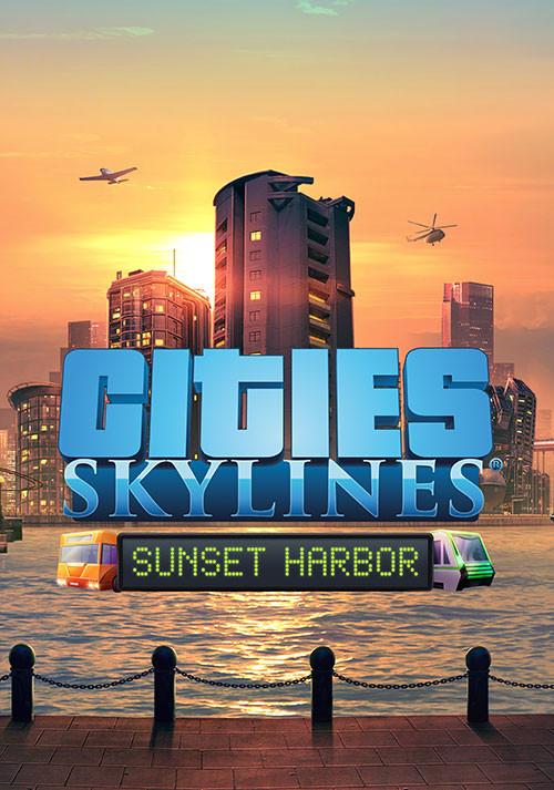 Фотография 🔶cities skylines: sunset harbor dlc официальный ключ