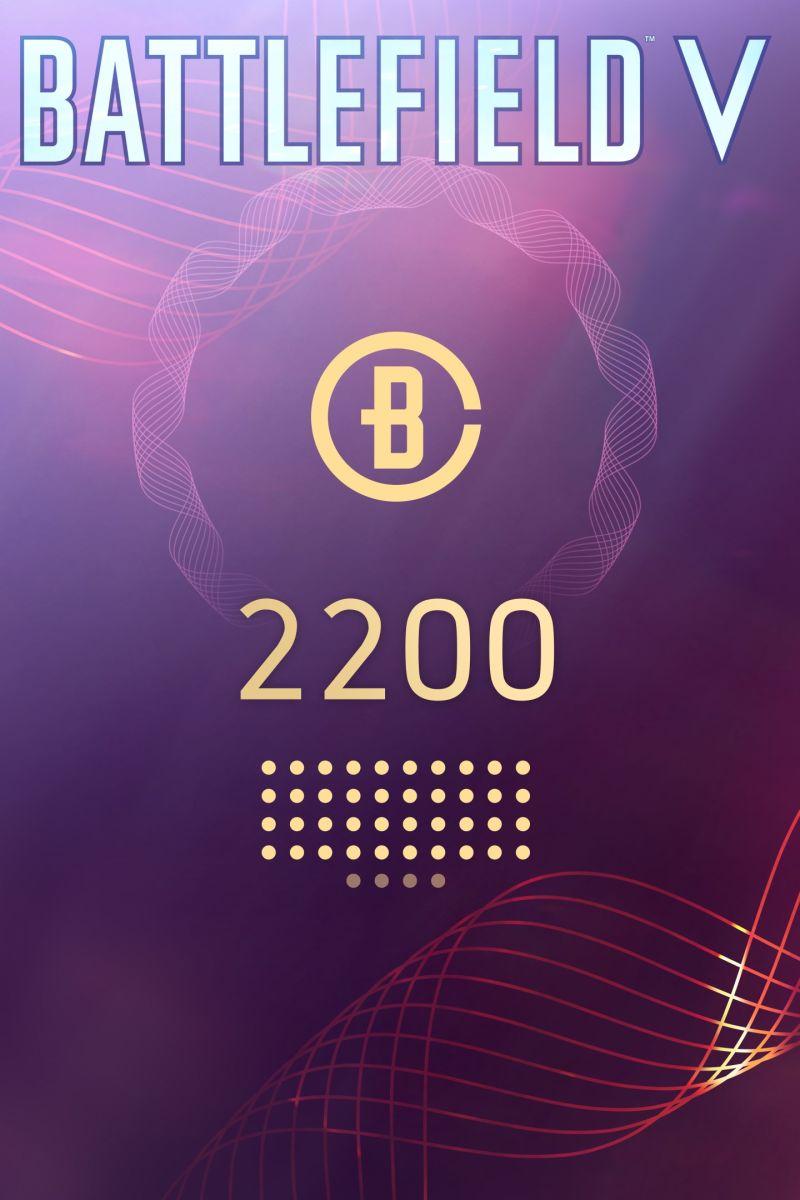 Battlefield V: Battlefield Currency 2200 - Официально