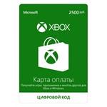 XBOX Live 2500 RUB (RUS) RUR Official key