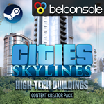 Cities: Skylines - Content Pack High-Tech Buildings DLC