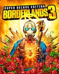 Borderlands 3+Season Pass=Super Deluxe  Ключ Epic Store