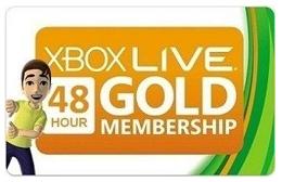 Купить XBOX Live 48 часа Trial Region Free