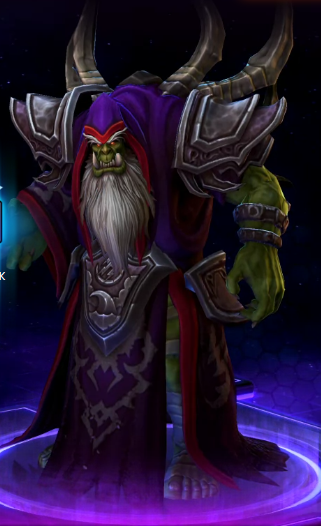 MEDIVH (HEARTHSTONE HERO) + GULDAN (HOTS HERO) BUNDLE
