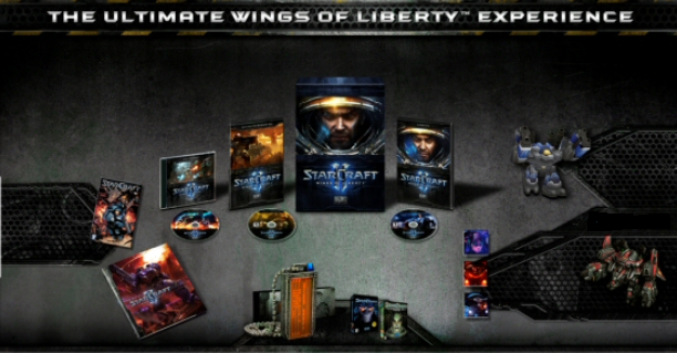 Starcraft 2 Wings of Liberty DELUXE edition  (Thor)