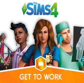 Купить The Sims 4: Get to Work DLC ORIGIN CD-KEY RU