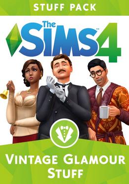 Купить The Sims 4: Vintage Glamour Stuff DLC ORIGIN CD-KEY