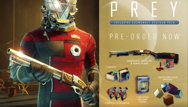 Prey - Cosmonaut Shotgun Pack dlc Steam Region free