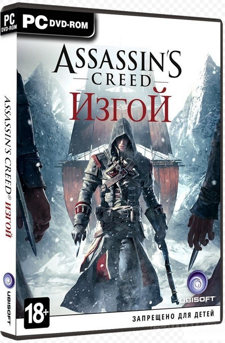 Assassin's Creed Изгой Rogue Uplay RU CIS