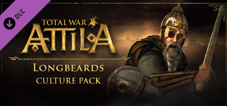 Total War ATTILA Longbeards Culture DLC STEAM KEY ROW