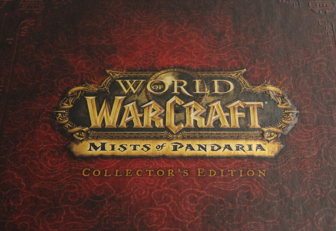 WARCRAFT MISTS OF PANDARIA Collector edition RU