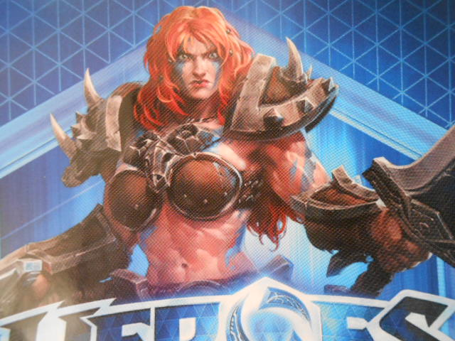 Heroes of the Storm Соня Sonya Global battle net