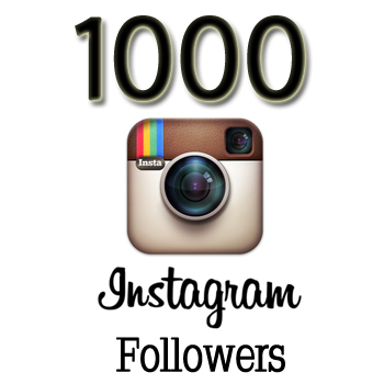 Instagram 1000 followers for 11.5$ SAlE!!