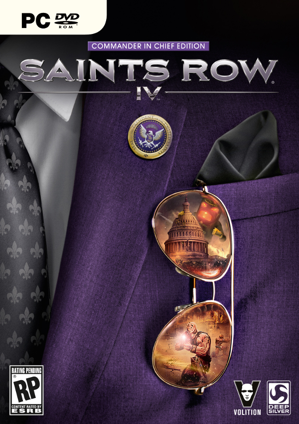 Saints Row 4 (Steam) + DLC Commander in Chief