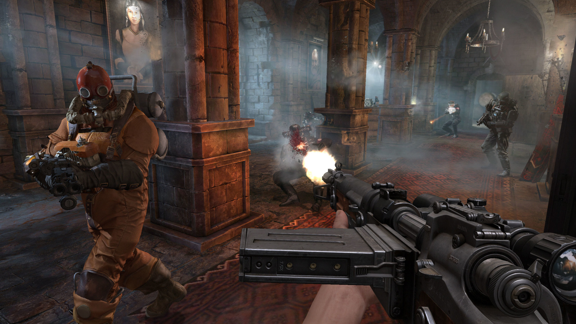 Wolfenstein: The Old Blood (RU+CIS)+Bonus