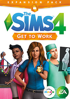 The Sims 4 Get to Work (Origin DLC key) Multilanguage