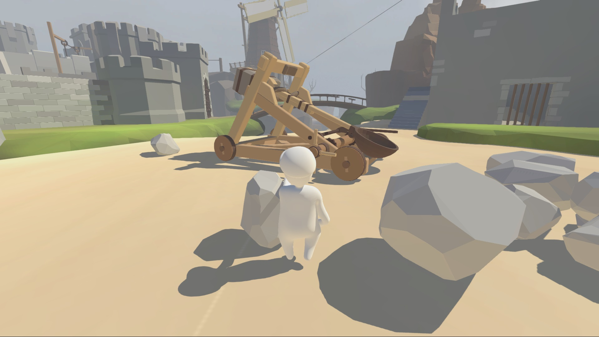 Human: Fall Flat (Steam key) Multilanguage @ RU