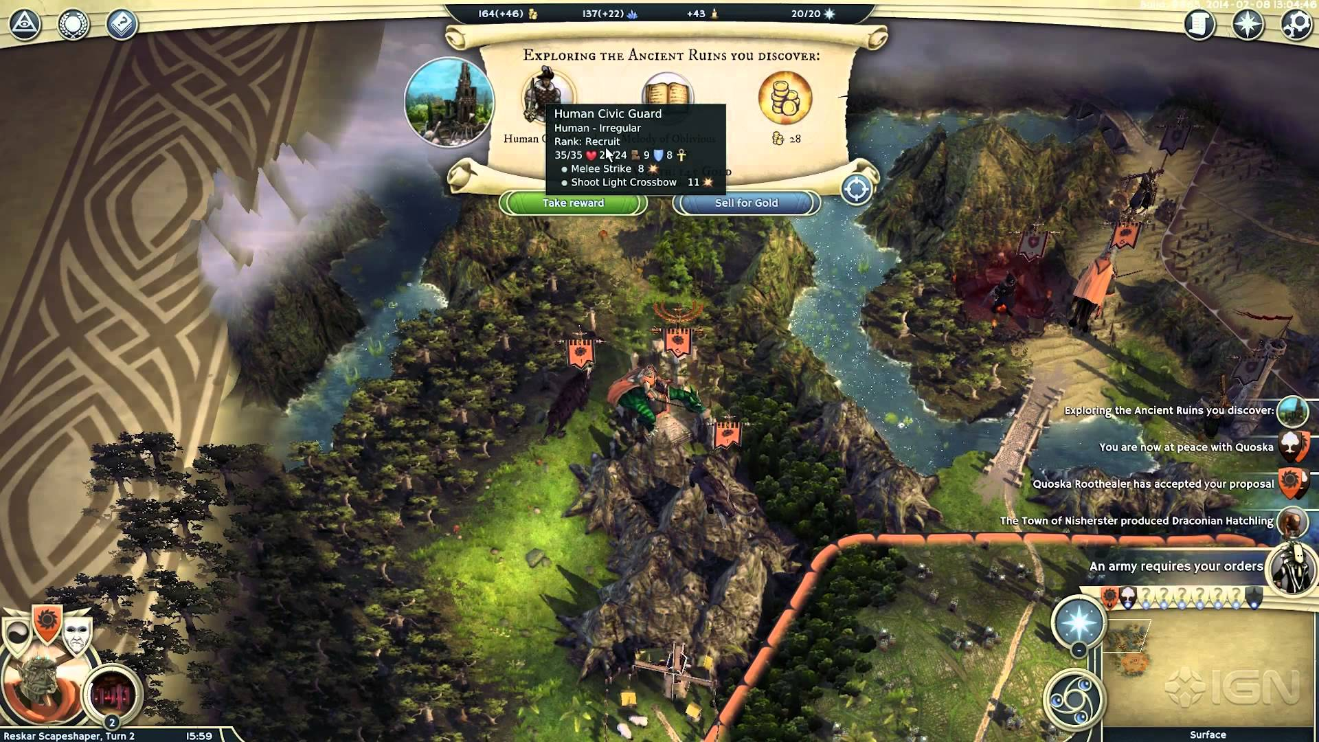 Age of Wonders III (Steam key) @ RU