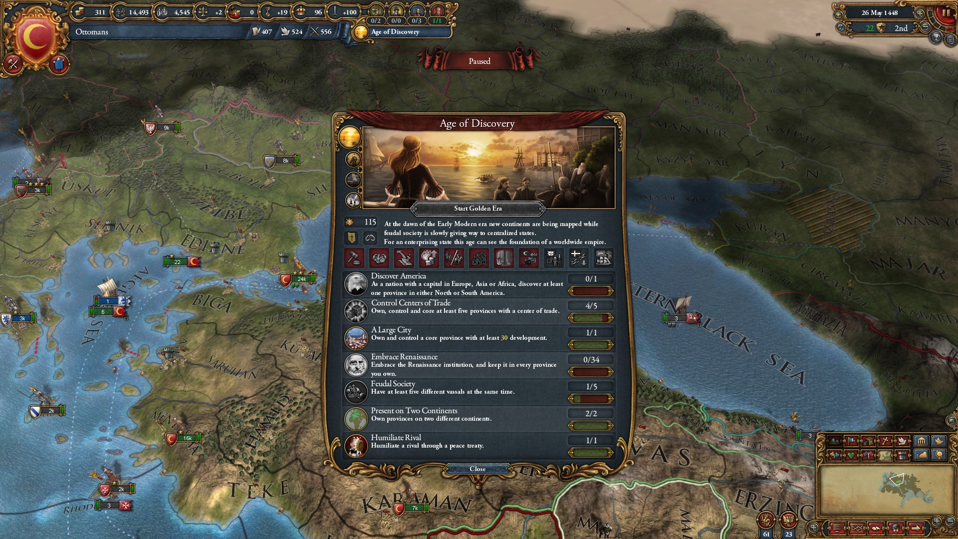 Europa Universalis IV: Mandate of Heaven (Steam) @ RU