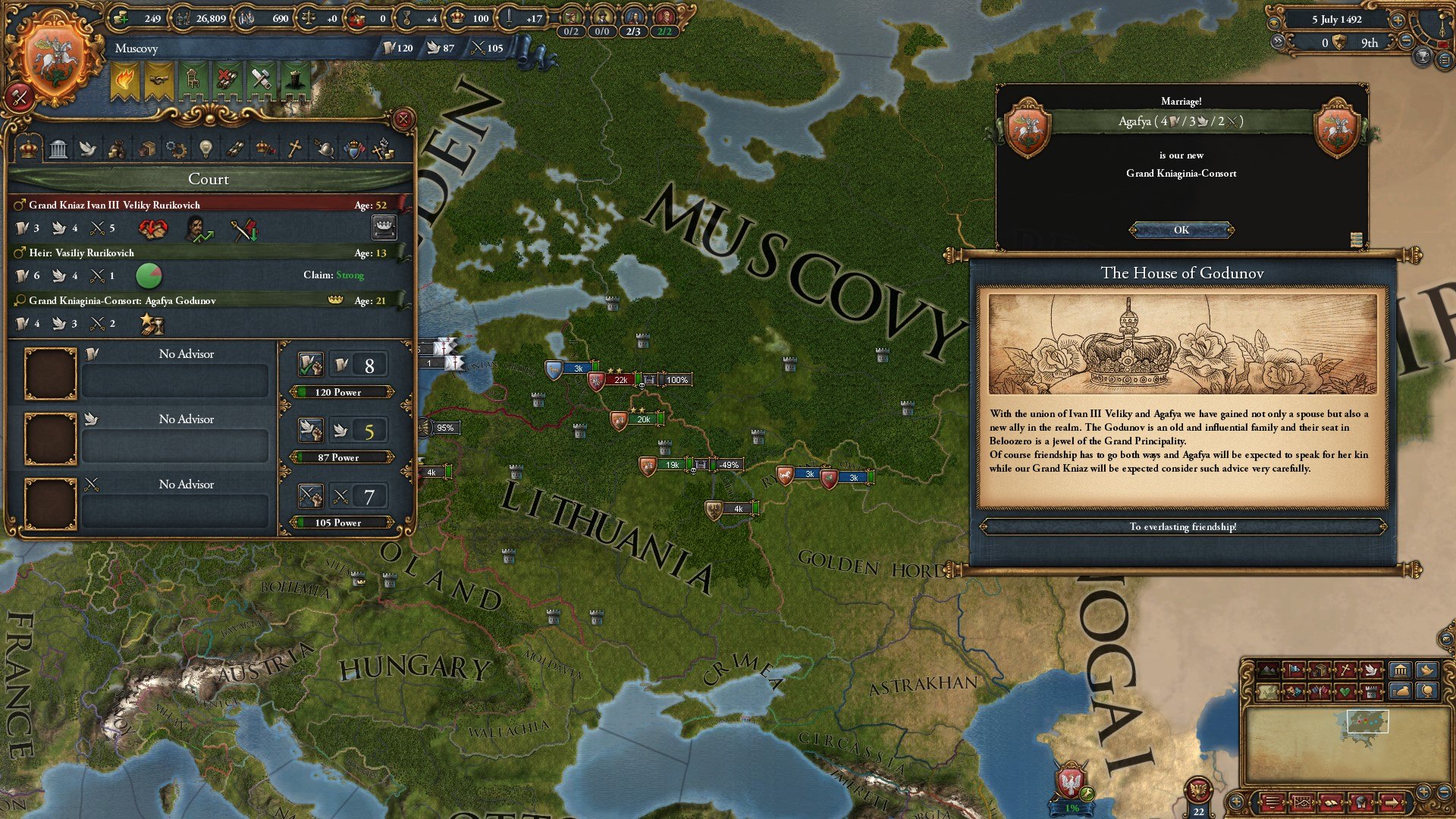 Europa Universalis IV: Rights of Man (Steam key) @ RU