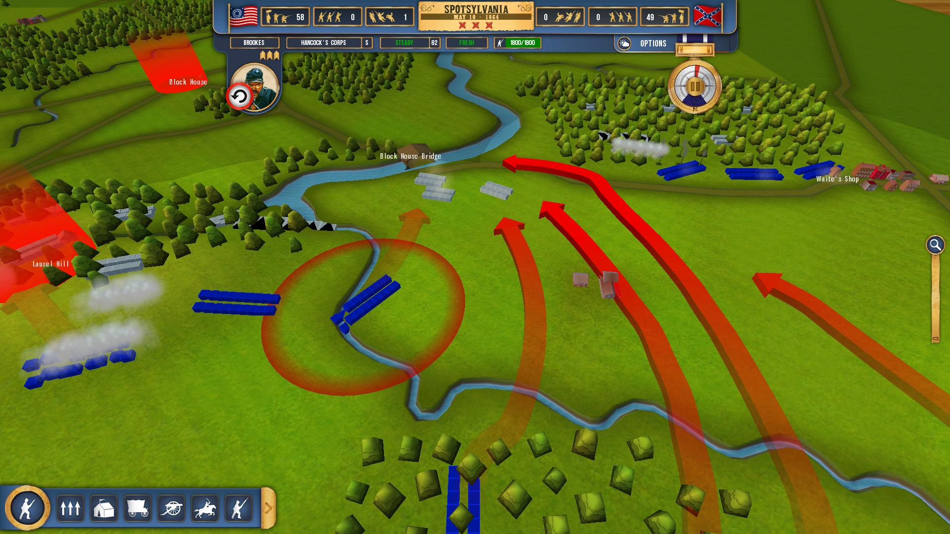 Battleplan: American Civil War (Steam key) @ RU
