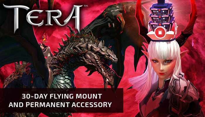 TERA - 30-day Duskwing Mount (NA Region En Masse)