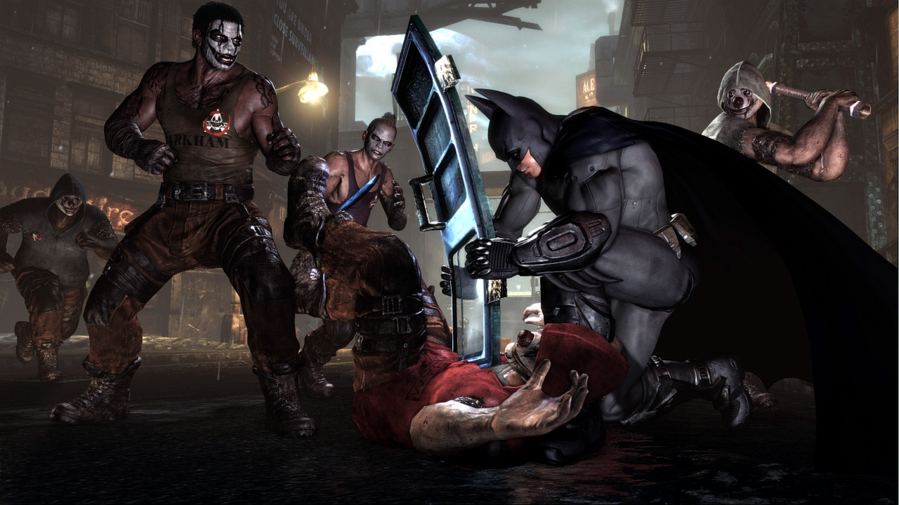 Batman: Arkham City GOTY Edition (Steam key) @ RU