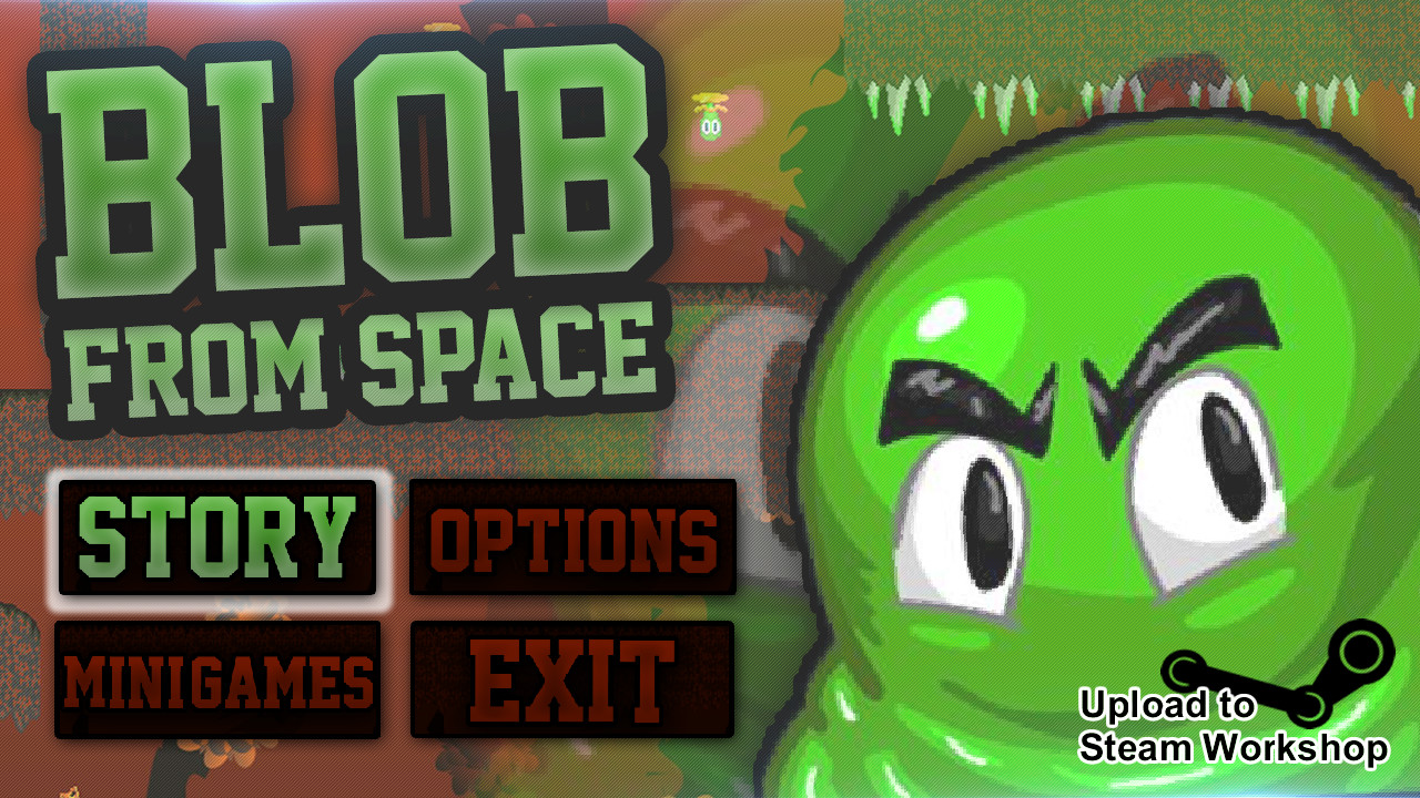 Blob From Space (Steam key) @ Region free