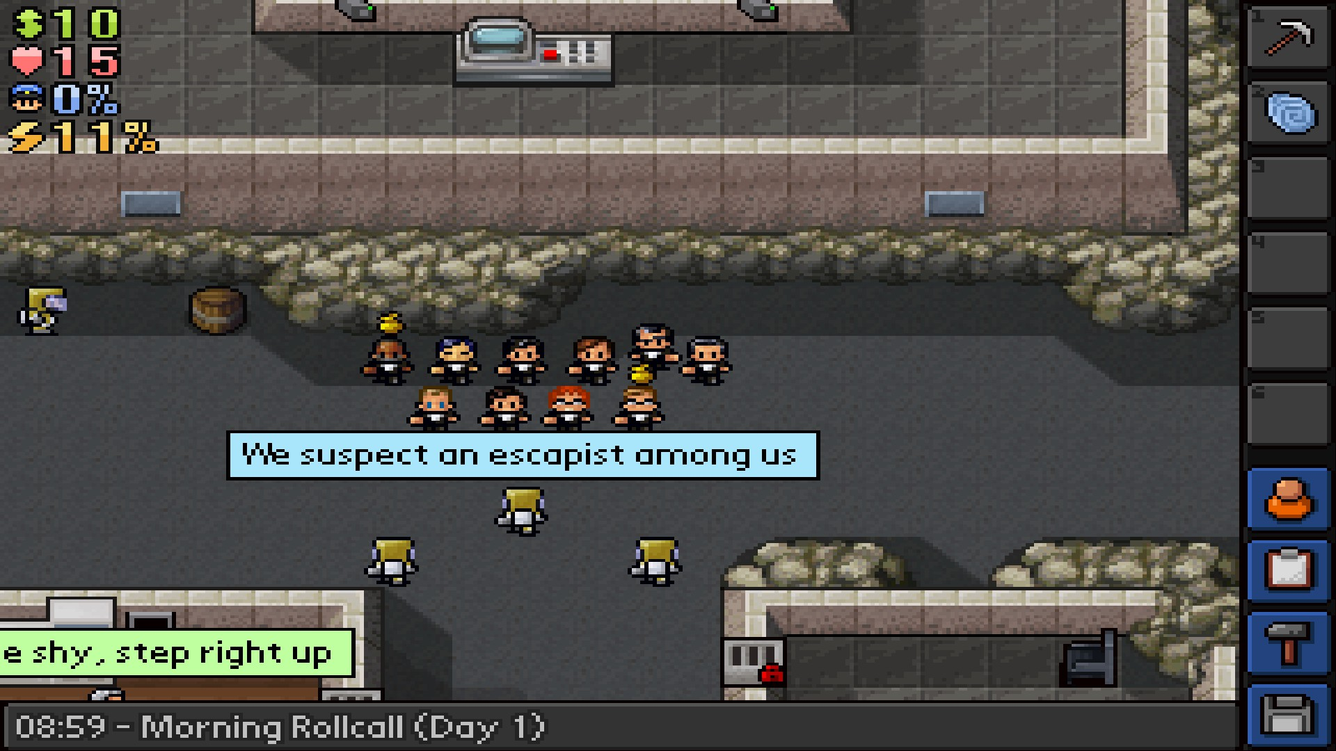 The Escapists - Duct Tapes are Forever @ Region free