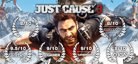 Just Cause 3 (Steam key) RU CIS + gift