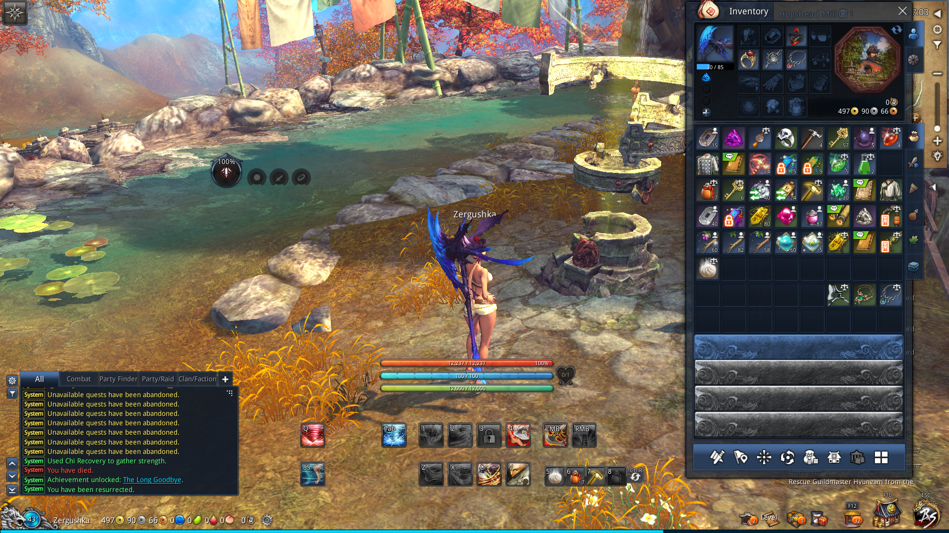 NCSOFT Blade and soul (Account) Europe 400+ Gold 2019