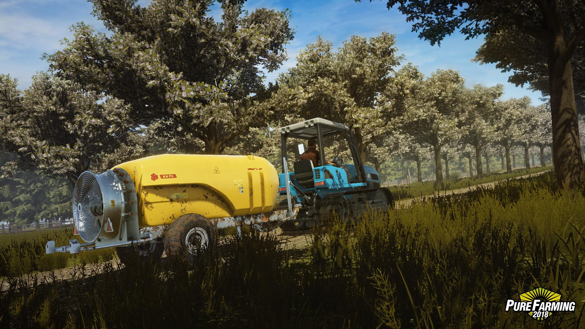 Pure Farming 2018 (Steam key) @ RU 2019