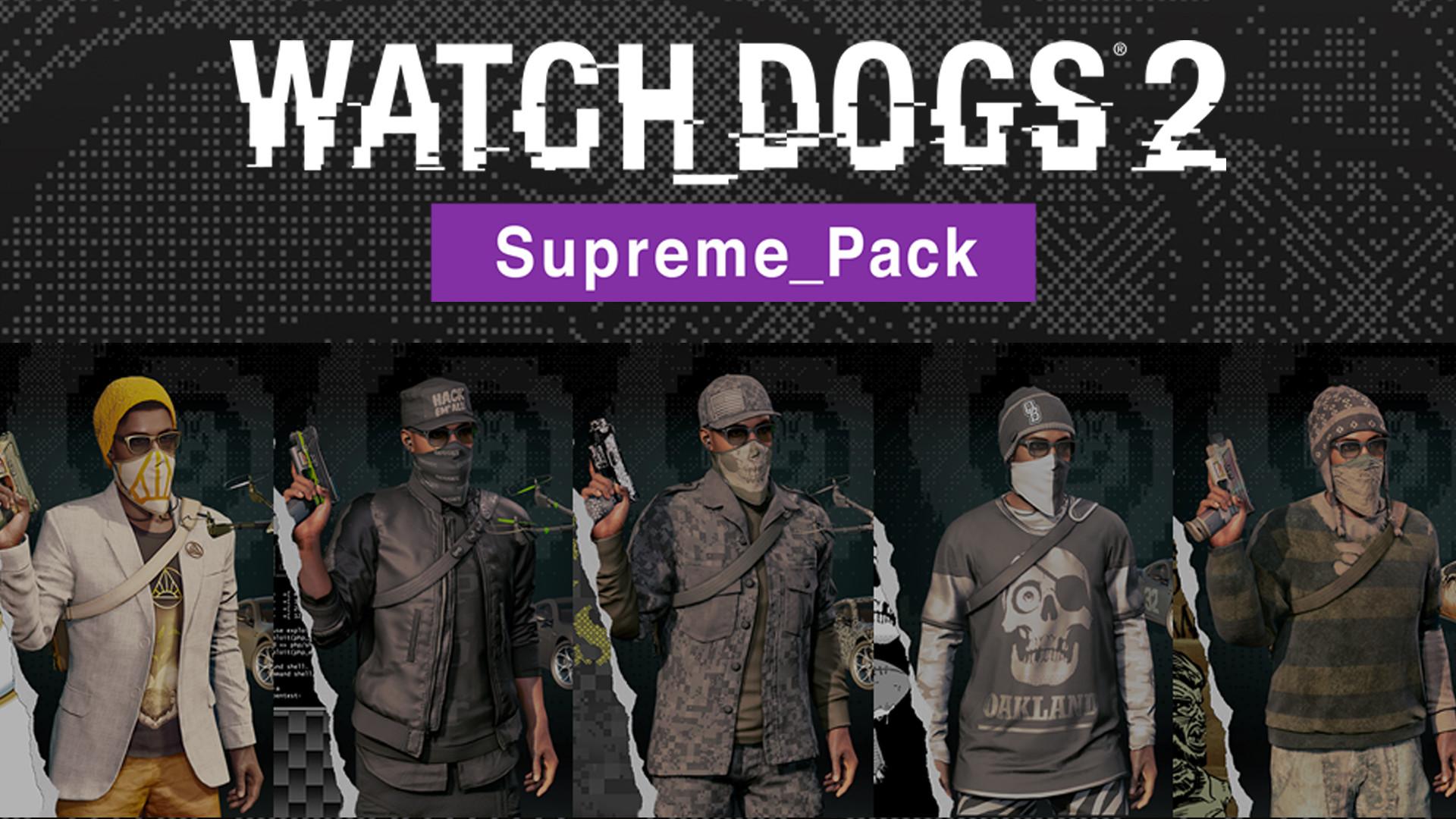 Watch Dogs 2 - Supreme Pack (Uplay key) @ RU 2019