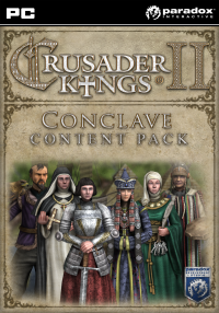Crusader Kings II Conclave Content Pack Steam key @ RU