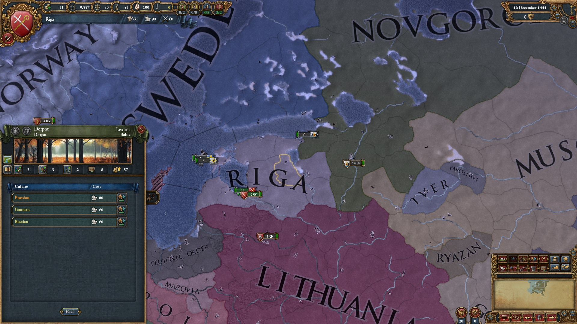 Europa Universalis IV: The Cossacks (Steam key) @ RU