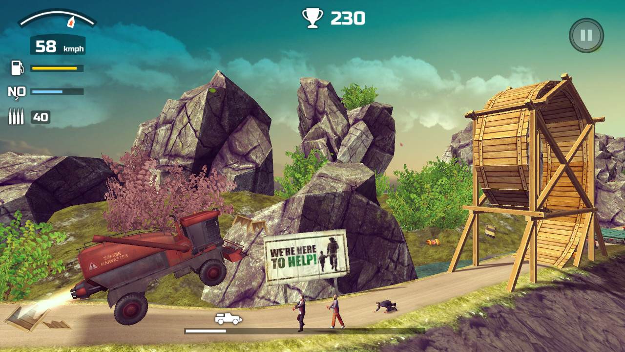 Zombie Derby 2 (Steam key) @ RU