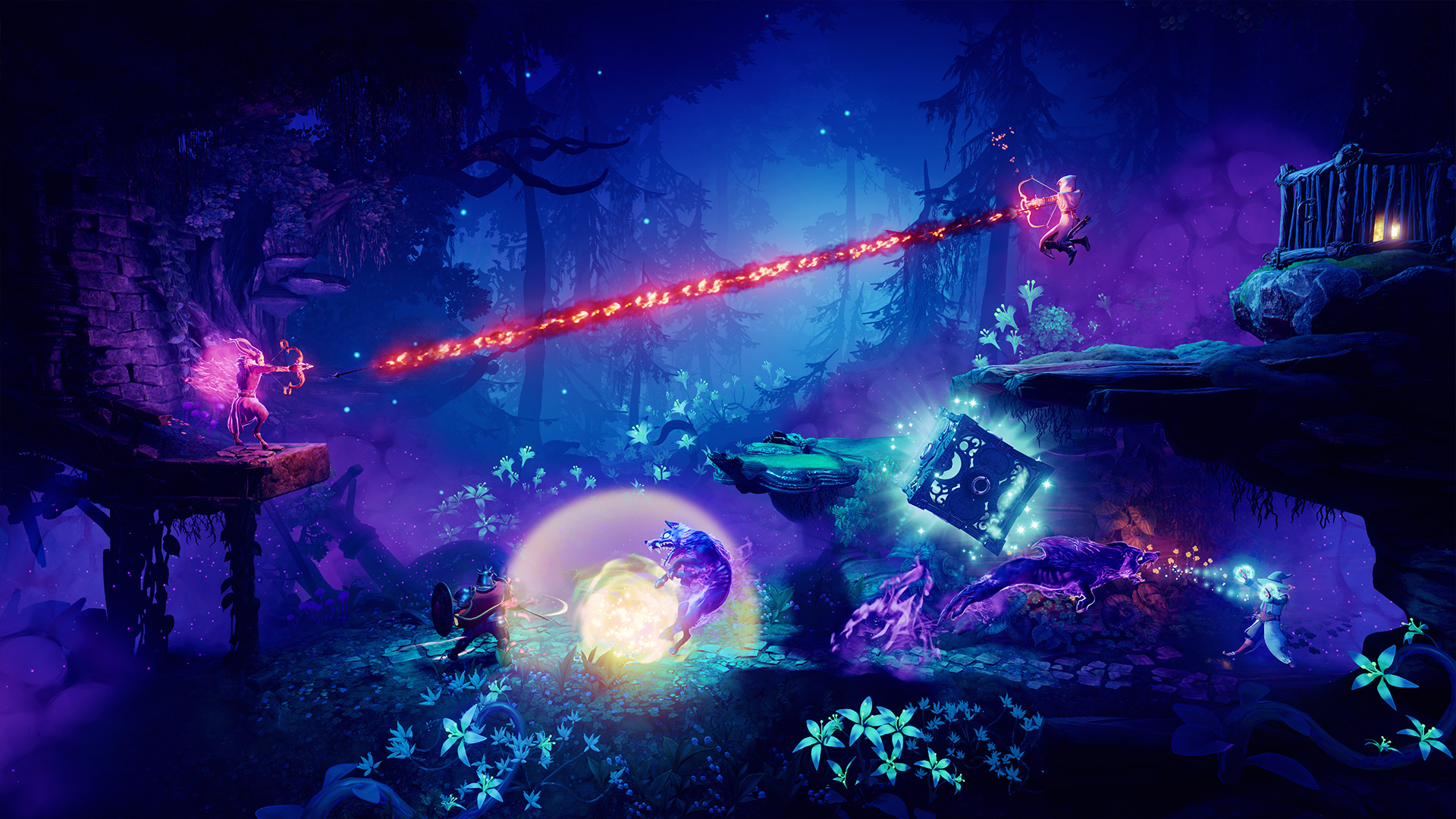 Trine 4: The Nightmare Prince (Steam key) -- RU