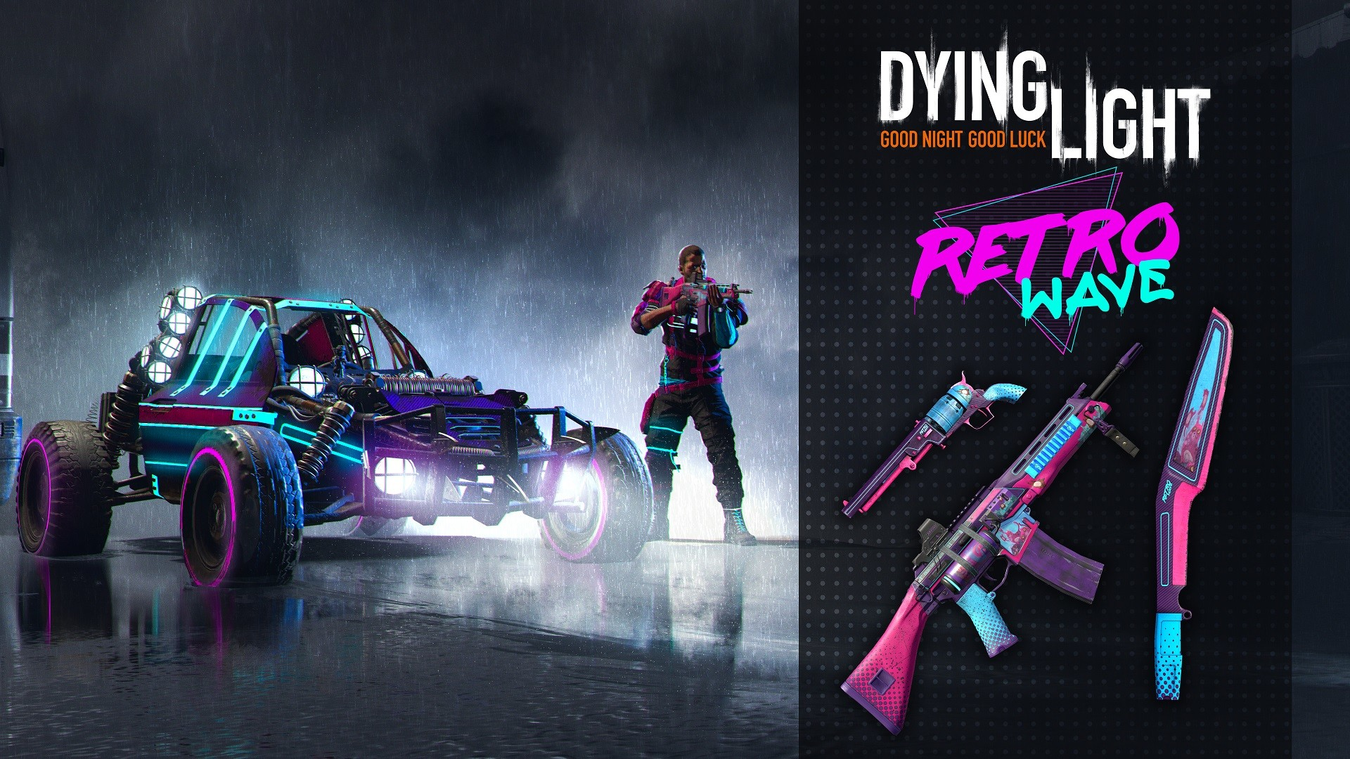 Dying Light - Retrowave Bundle (Steam key) -- RU