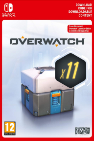 Overwatch 11 Loot Boxes (Nintendo Switch key) -- RU