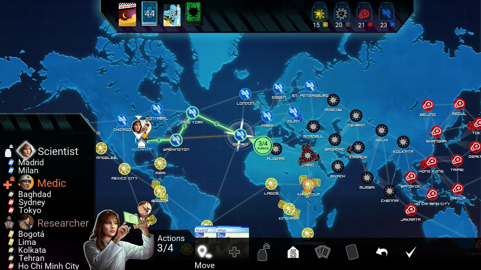 Pandemic: The Board Game (Steam key) -- RU