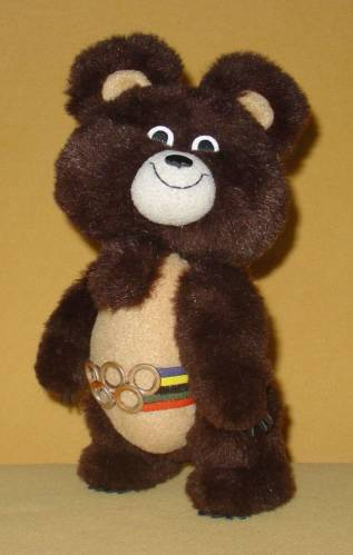 "Pattern toys ""Olympic Teddy Bear"" by T.Brazhenkova"