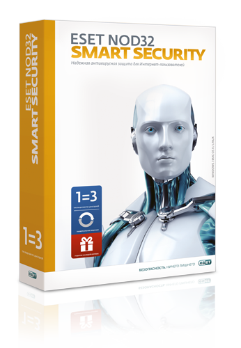 ESET NOD32 Internet Security: Renewal* for 1 year, 3 PC