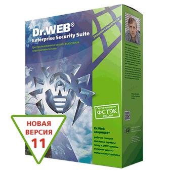 Dr.Web for 5 PCs, 1 file server, 5 mobile devices 2019