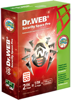 Dr.Web Security Space: the extension * 2 PC / Mac 1 yea