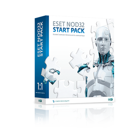ESET NOD32 Antivirus 1 PC for 1 year (START PACK)
