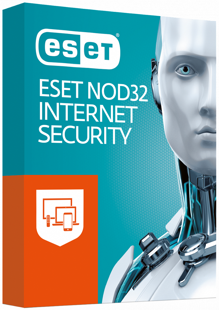 ESET NOD32 Internet Security for 2 years on 3 devices