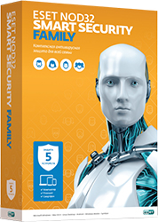 ESET NOD32 Smart Security Family: 5 устройств на 1 год