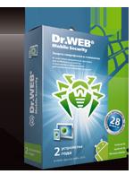 Купить Dr.Web Mobile Security на 2 года на 2 устройства