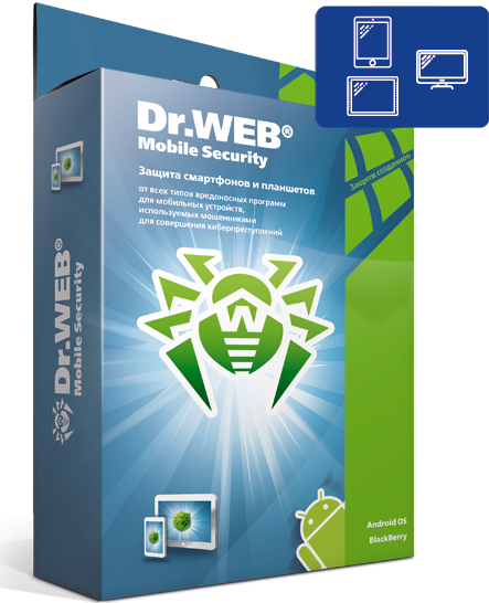 Dr.Web Mobile Security: 1 year, 1 mobile device